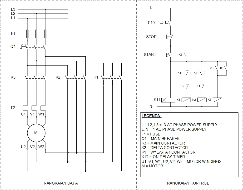 Wye Delta Wiring Diagram Breaker Schematics Diagrams Schematic Y And Basics Free Engine Image For Connection