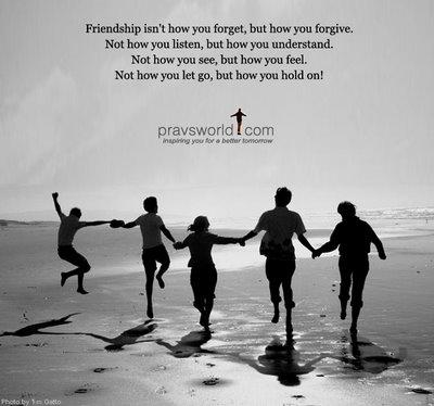Sahabat sejati adalah yang menegurmu saat berbuat salah.